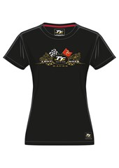 TT 2018 Gold Bike Ladies T-Shirt