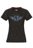 TT Wings Ladies T-Shirt Black