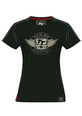 TT Wings Ladies T-Shirt Green