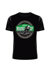 Manx Grand Prix- Get your Heart Racing T-Shirt Black