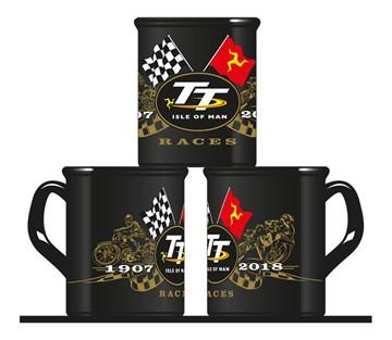 TT 2018 Gold Bikes Mug - click to enlarge