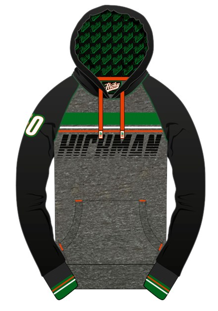 Peter Hickman  Hoodie - click to enlarge