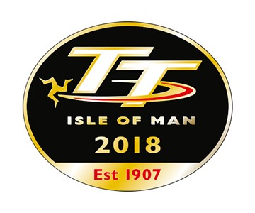 TT 2018 Pin Badge - click to enlarge