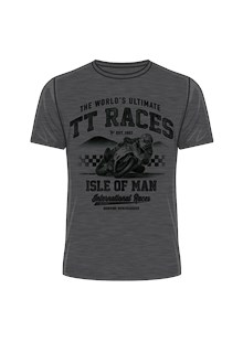 The World's Ultimate TT Races T-Shirt Dark Heather
