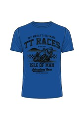 The World's Ultimate TT Races T-Shirt Royal Blue