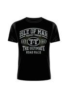 IOM TT Est 1907 Retro T-Shirt Black
