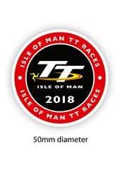 TT 2018 Small Sticker Round