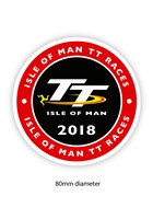 TT 2018 Large Sticker Round