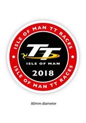 TT 2018 Large Sticker Round