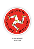 Isle of Man Three Legs Sticker
