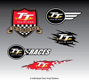 TT 2018 Sticker Set - click to enlarge