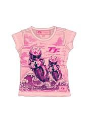 TT Baby Bike Print T-Shirt Pink