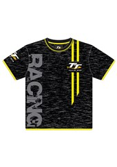 TT All over Print Childs T-Shirt Yellow Trim