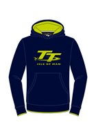 TT Childs Hoodie Navy/Green