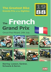 Great Bike Grand Prix of the Eighties France 1988 DVD