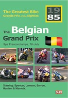Great Bike Grand Prix of the Eighties Belgium 1985 DVD