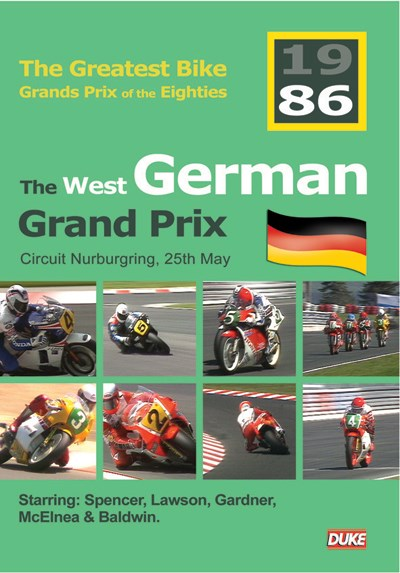 Great Bike Grand Prix of the Eighties Germany 1986 DVD