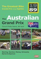 Great Bike Grand Prix of the Eighties Australia 1989 DVD