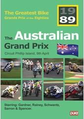 Great Bike Grand Prix of the Eighties Australia 1989 DVD