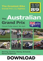 Bike GP 1989 - Australia Download