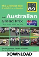 Bike GP 1989 - Australia Download