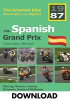 Great Bike Grand Prix of the Eighties Spain 1987 Download