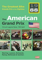 Great Bike Grand Prix of the Eighties USA 1988 DVD