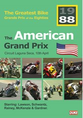 Great Bike Grand Prix of the Eighties USA 1988 DVD
