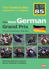 Great Bike Grand Prix of the Eighties West Germany 1985 DVD