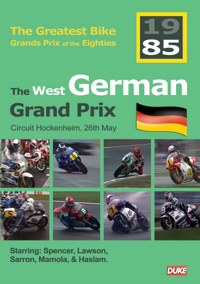 Great Bike Grand Prix of the Eighties West Germany 1985 DVD