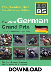 The German Bike Grand Prix 1985 Download