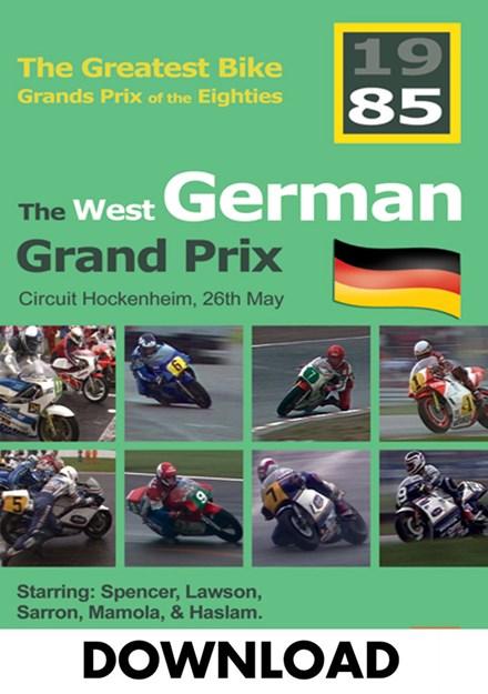 The German Bike Grand Prix 1985 Download