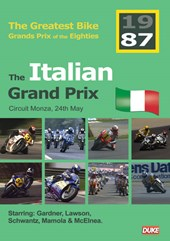 Great Bike Grand Prix of the Eighties Italy 1987 DVD