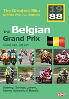 Great Bike Grand Prix of the Eighties Belgium 1988 DVD