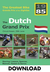 The Dutch Grand Prix 1985 - The Greatest Bike GPs of the Eighties Download