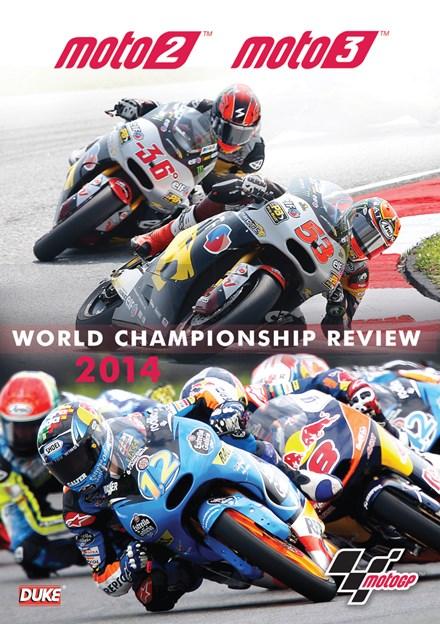MotoGP Moto2 & Moto3 2014 Review DVD