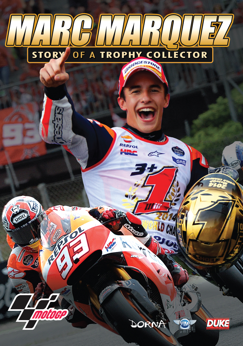 Marc Marquez - The Story of a Trophy Collector DVD : Duke Video