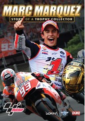 Marc Marquez - The Story of a Trophy Collector DVD