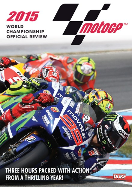 MotoGP 2015 Review NTSC DVD