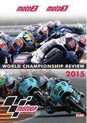 Moto2 & Moto3 Official Review 2015 DVD