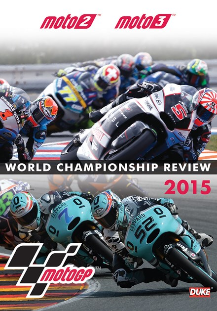 MotoGP Moto2 & Moto3 Review 2015 DVD