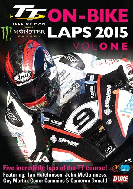 TT 2015 On-bike Laps Vol 1 DVD