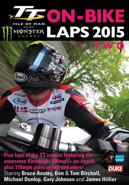 TT 2015 On-bike Laps Vol 2 DVD