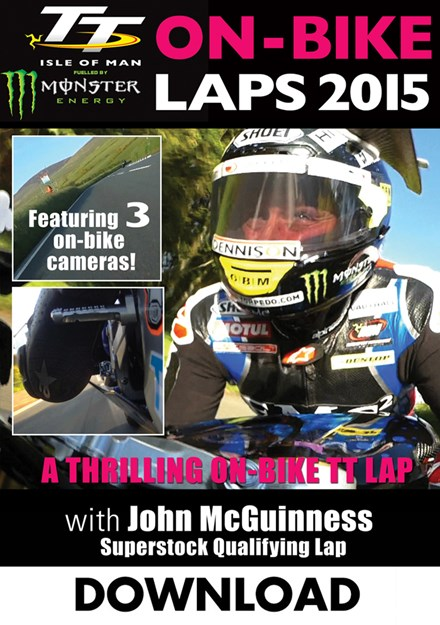 TT 2015  On Bike Lap John McGuinness  Superstock Qualifying Download