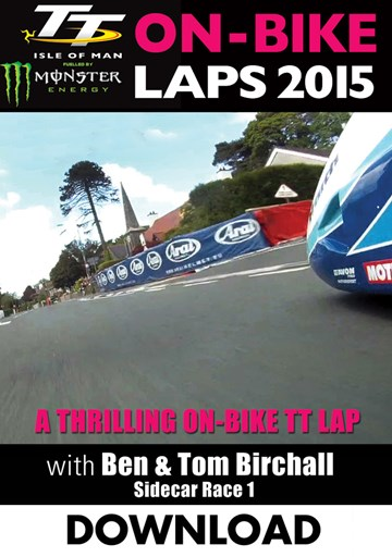 TT 2015 On Bike Birchalls Sidecar Race 1 Lap 2 Download - click to enlarge