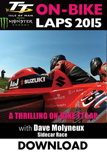TT 2015 On Bike Dave Molyneux Sidecar Race 2 Download - click to enlarge