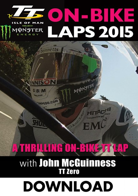 TT 2015 On Bike John McGuinness TT Zero Download