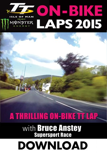 TT 2015 On Bike Bruce Anstey Supersport 2 Lap 2 Download . - click to enlarge