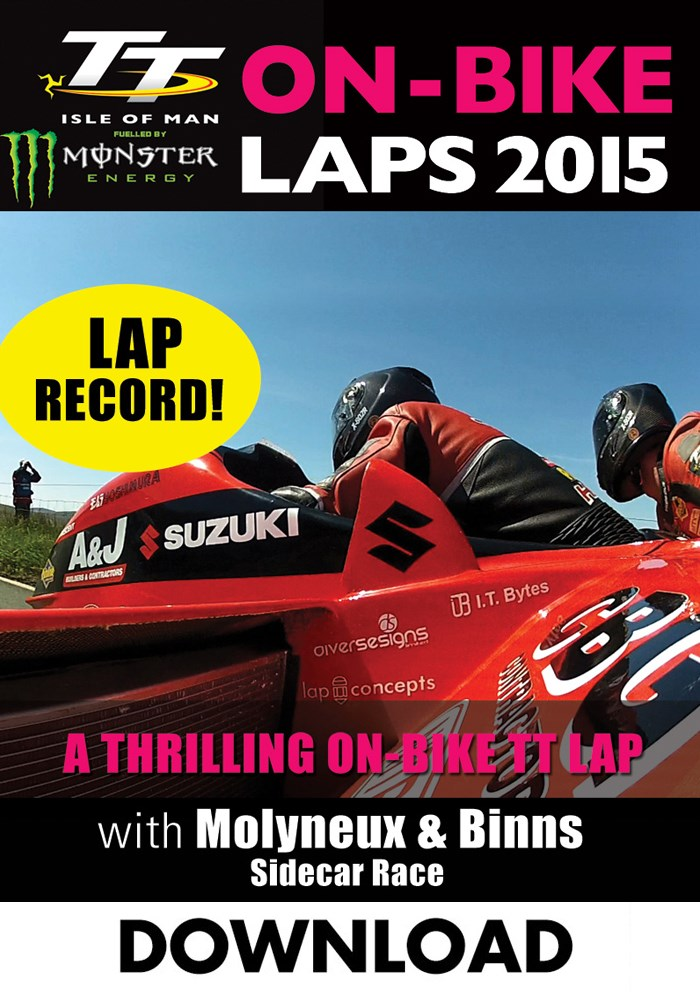 TT 2015 On Bike Dave Molyneux Sidecar Race 2 Lap Record Download