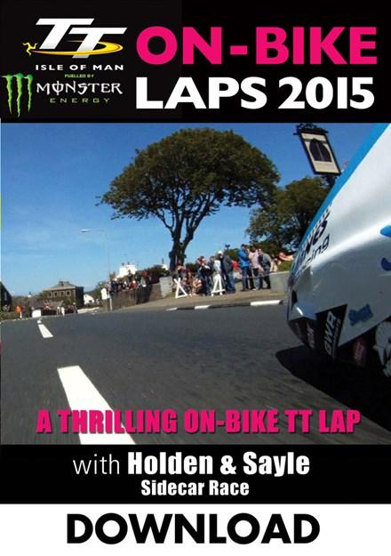 TT 2015 On Bike Holden & Sayle Sidecar Race 2 Download